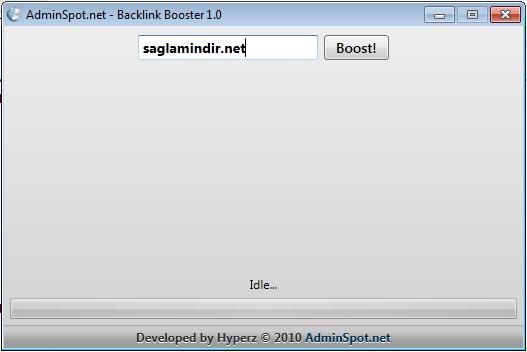 Backlink Programı İndir