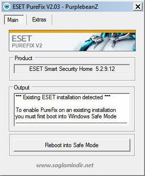 Eset PureFix 2.03 Full İndir