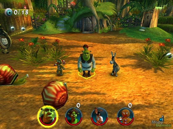 Shrek 2 The Game Full İndir