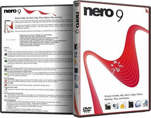 Nero Micro Lite 9