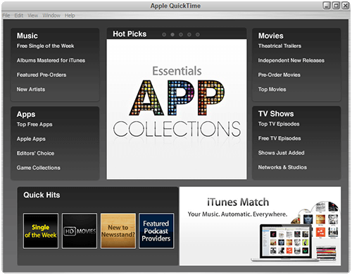Apple QuickTime Player 7.7.9 Pro Full İndir