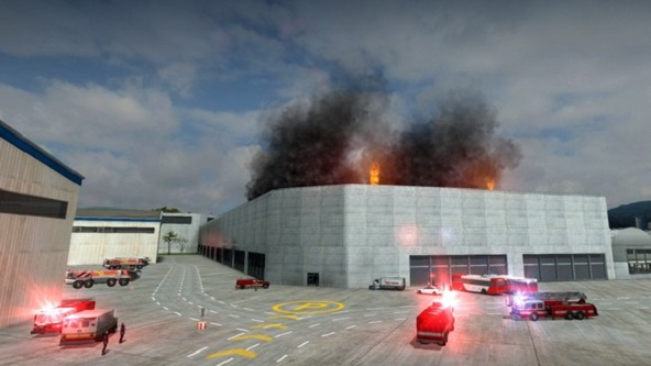 Airport Firefighters The Simulation İndir