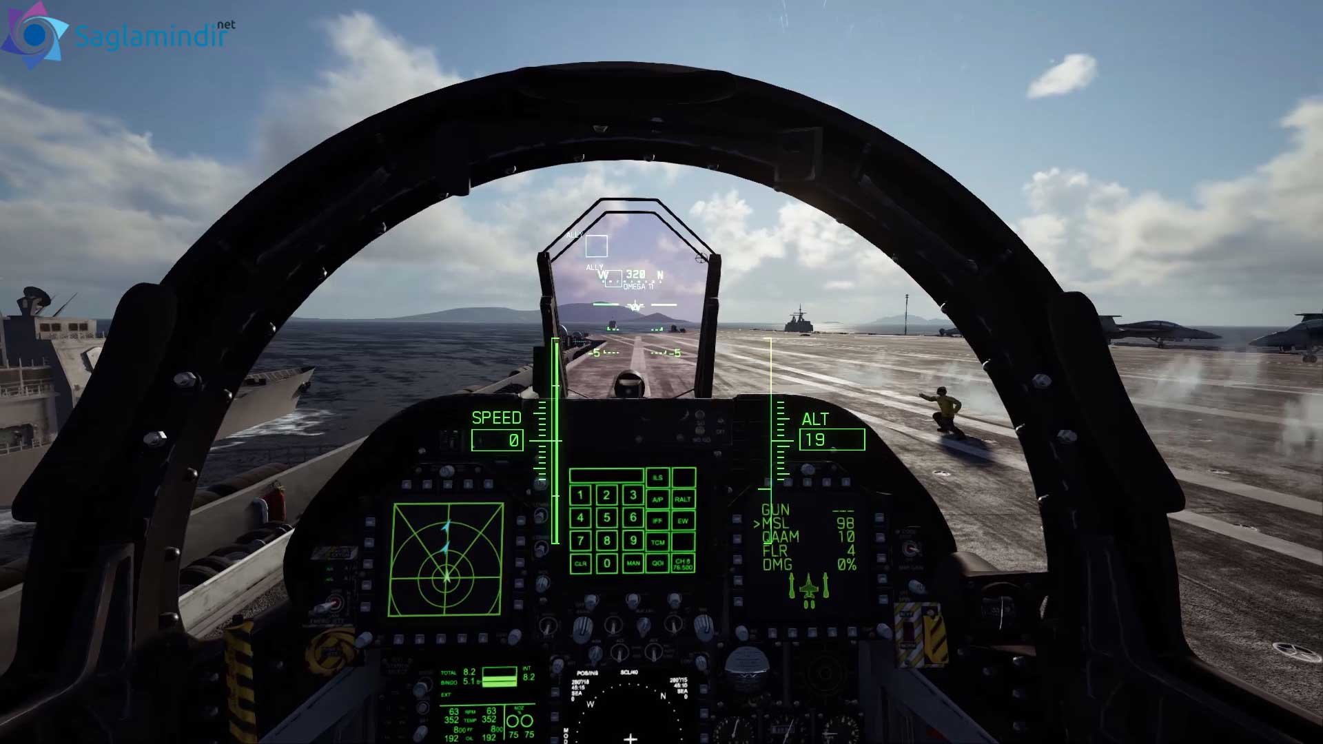 ace combat 7 skies unknown torrent indir