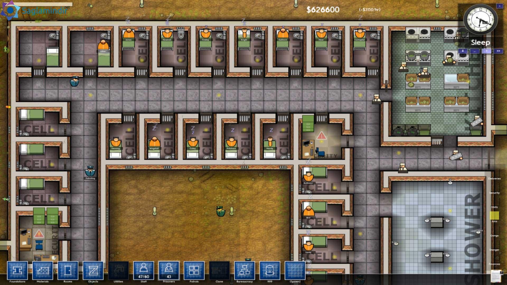 prison architect saglamindir