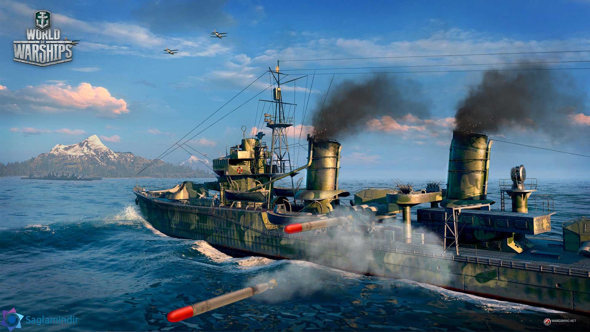 world of warships oyunu indir