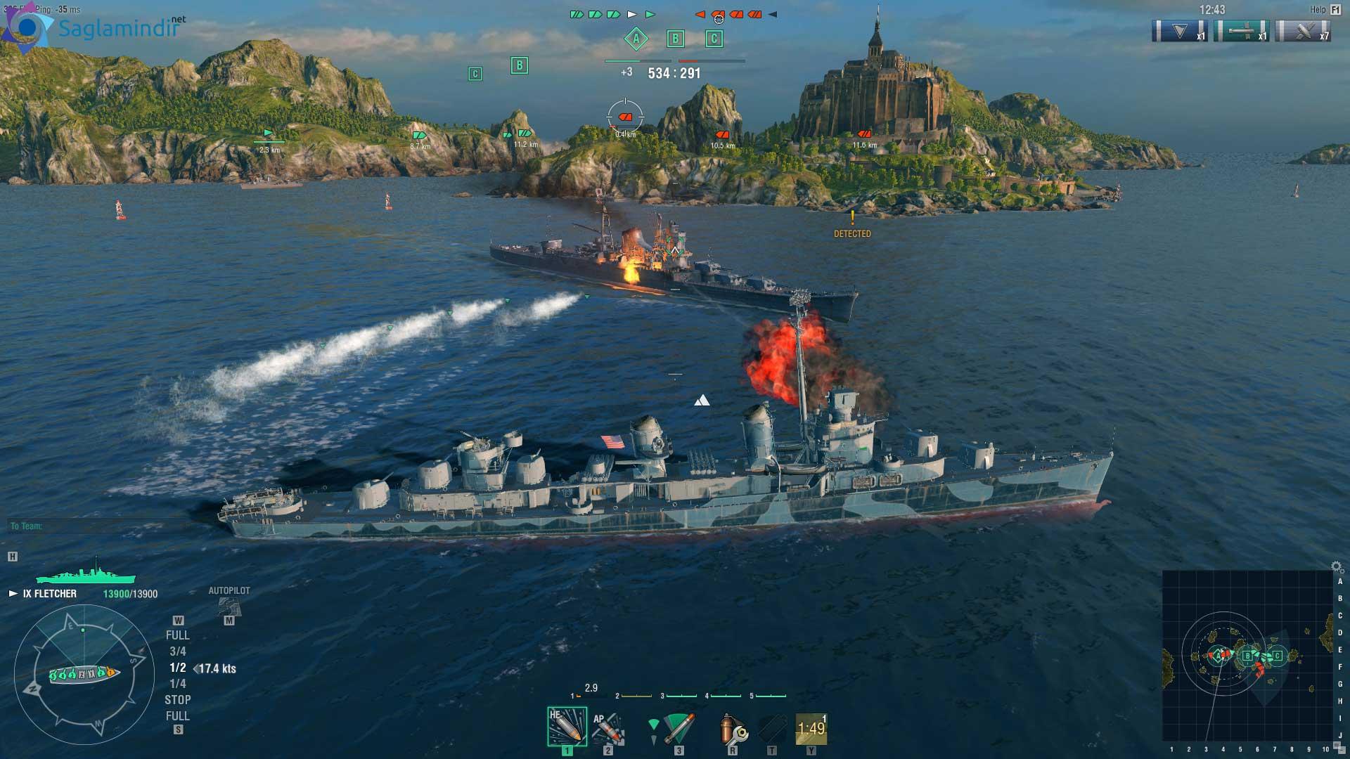 world of warships ücretsiz indir