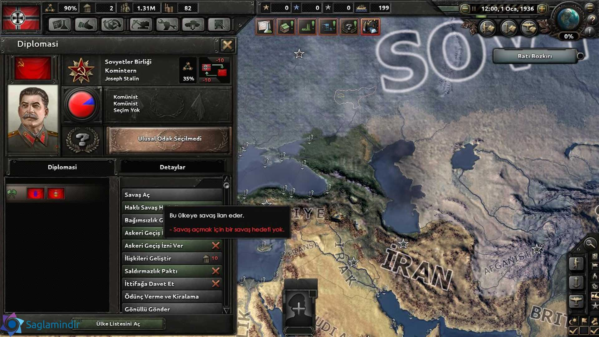 hearts of iron 4 türkçe yama