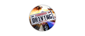 dangerous driving icon