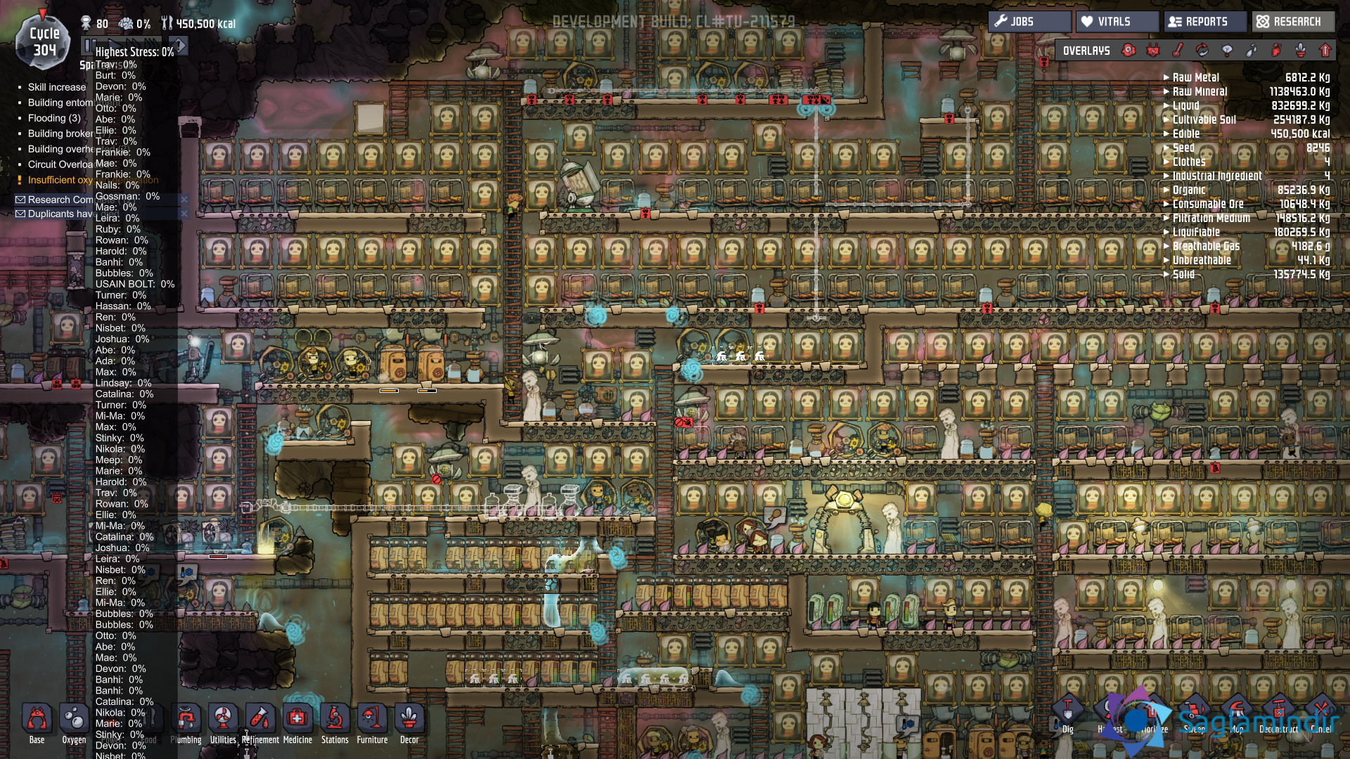 oxygen not included saglamindir