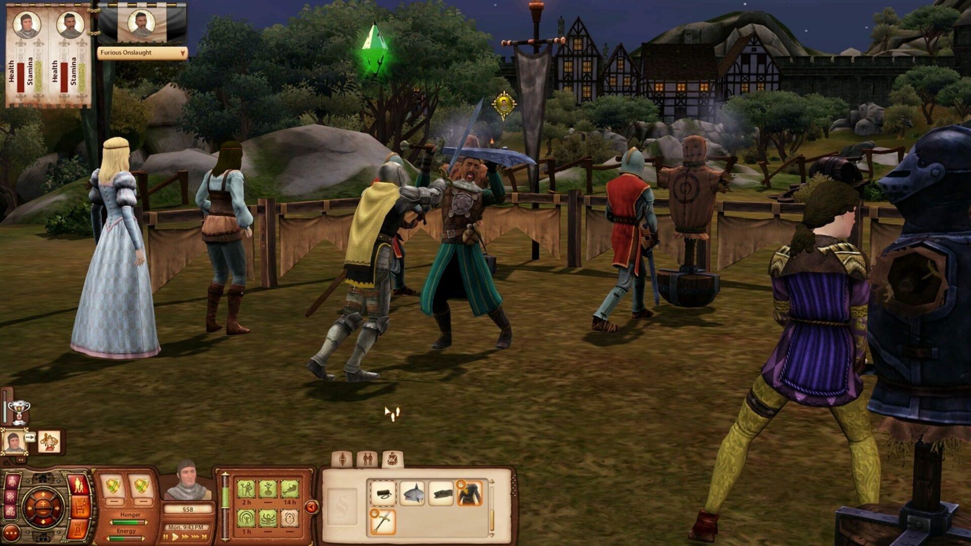 the sims medieval sağlamindir
