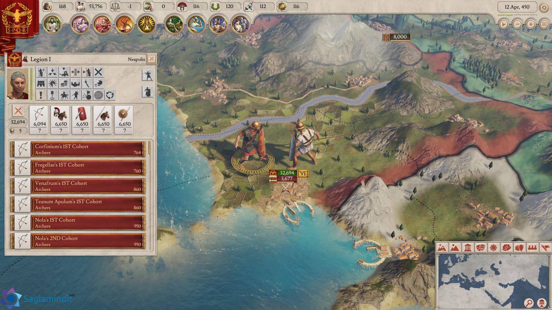imperator rome torrent indir