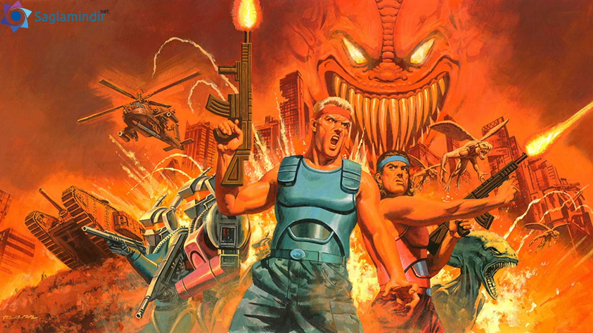 contra anniversary collection torrent indir