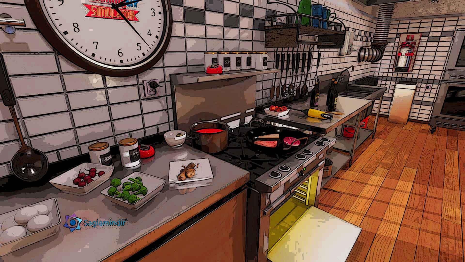 cooking simulator saglamindir