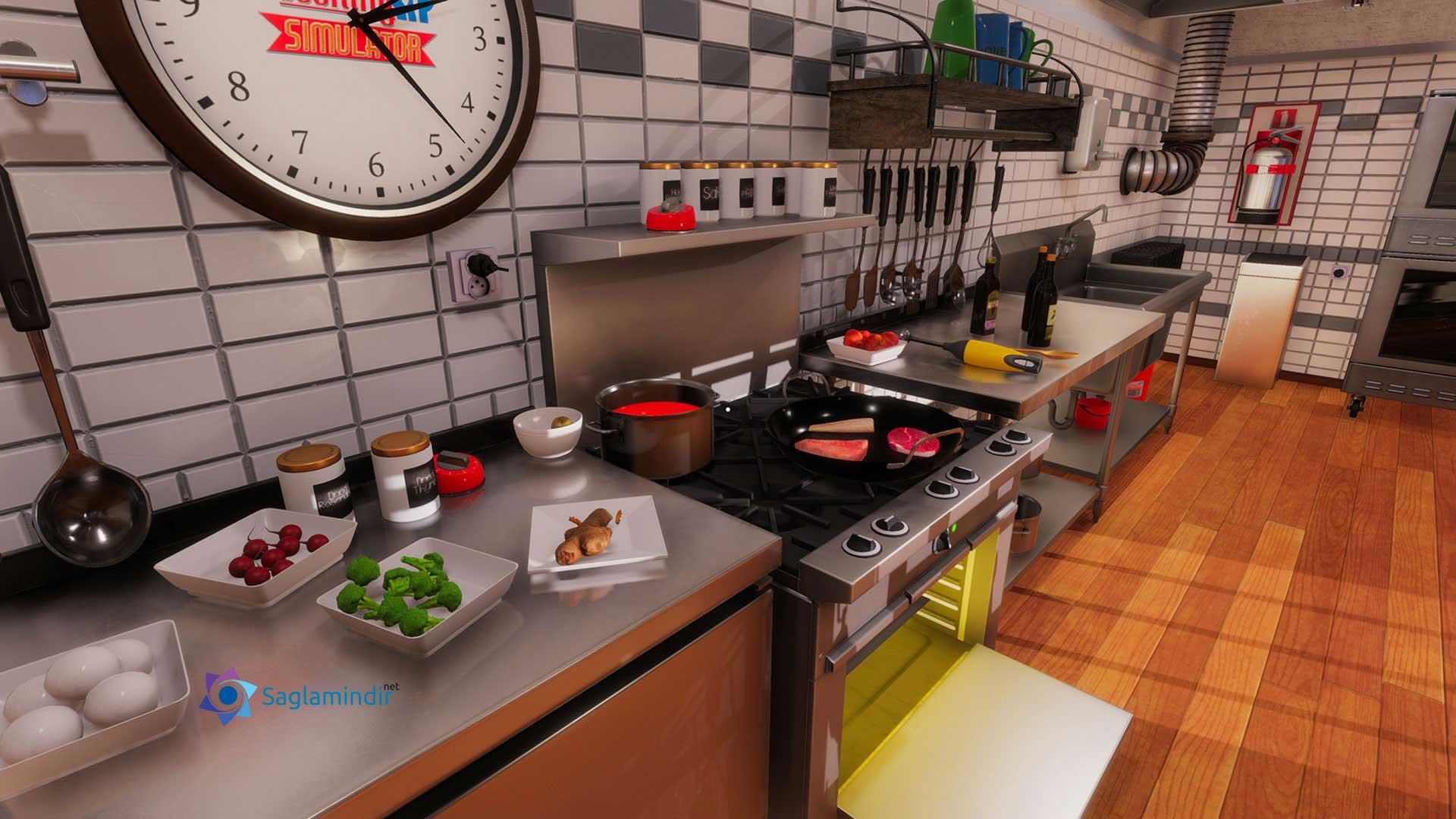 cooking simulator saglamindir