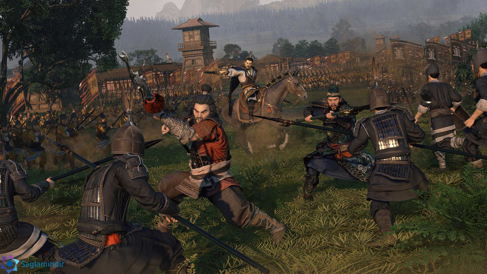 total war three kingdoms torrent indir