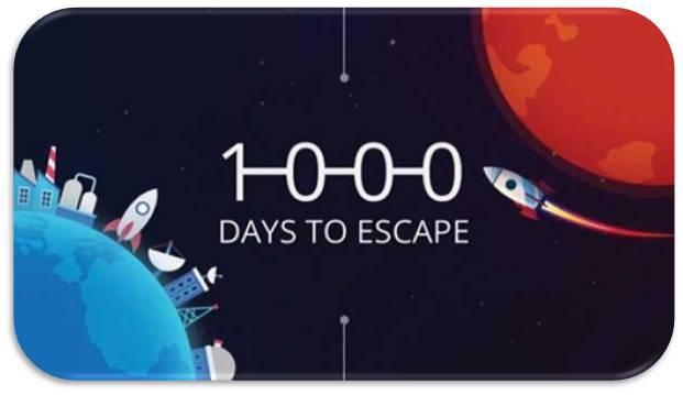 1000 Days to Escape indir
