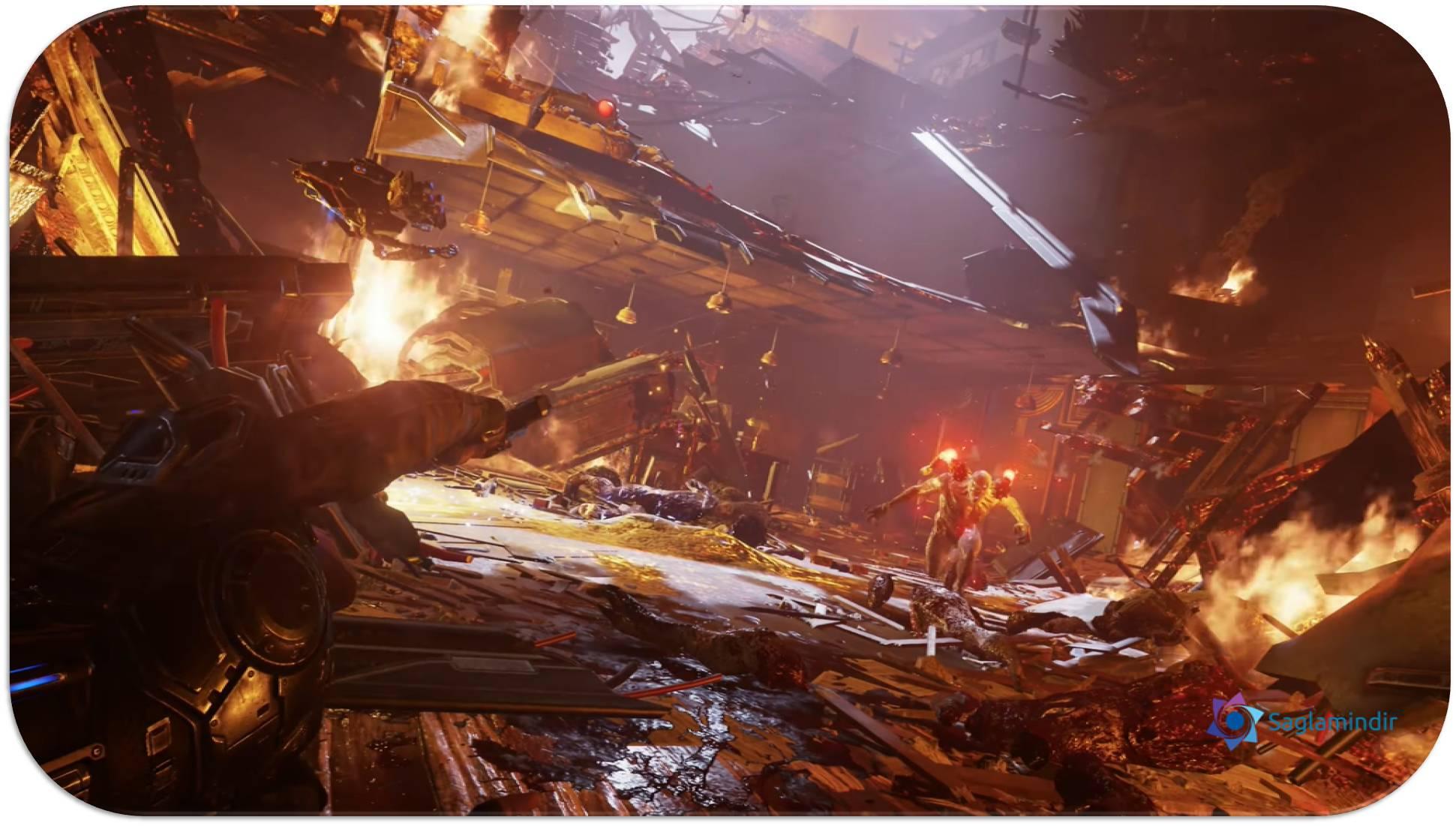 Gears 5 oyunu ücretsiz indir