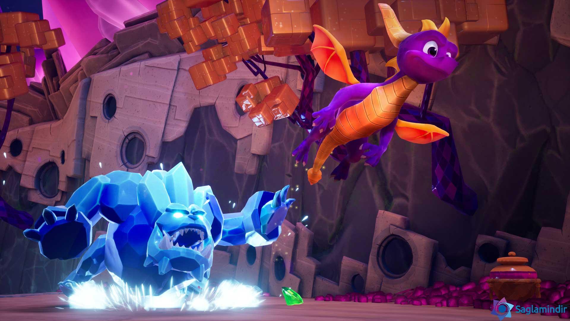 Spyro Reignited Trilogy saglamindir