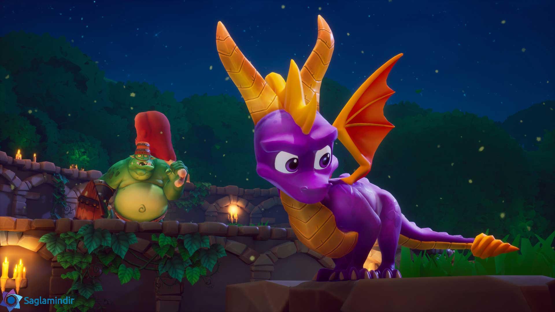Spyro Reignited Trilogy torrent indir