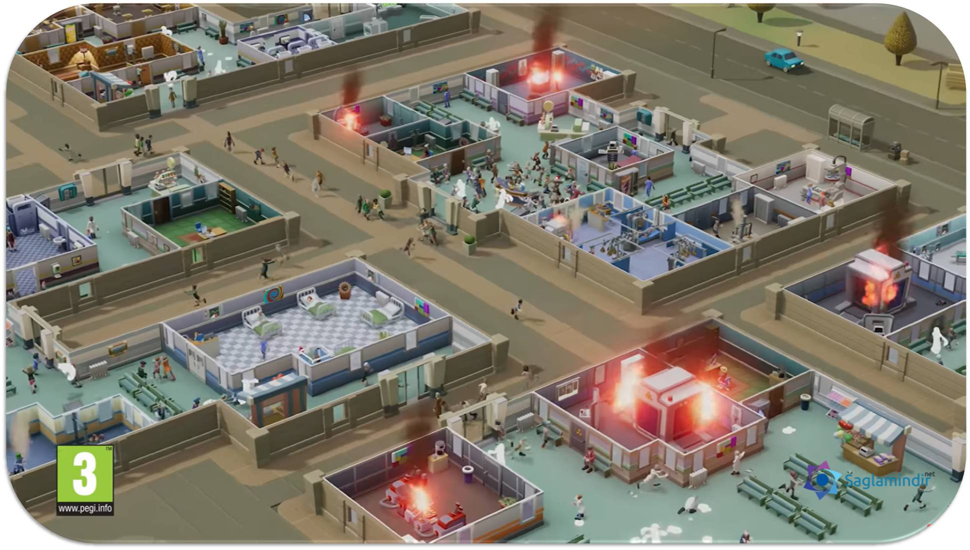 two point hospital pc indir