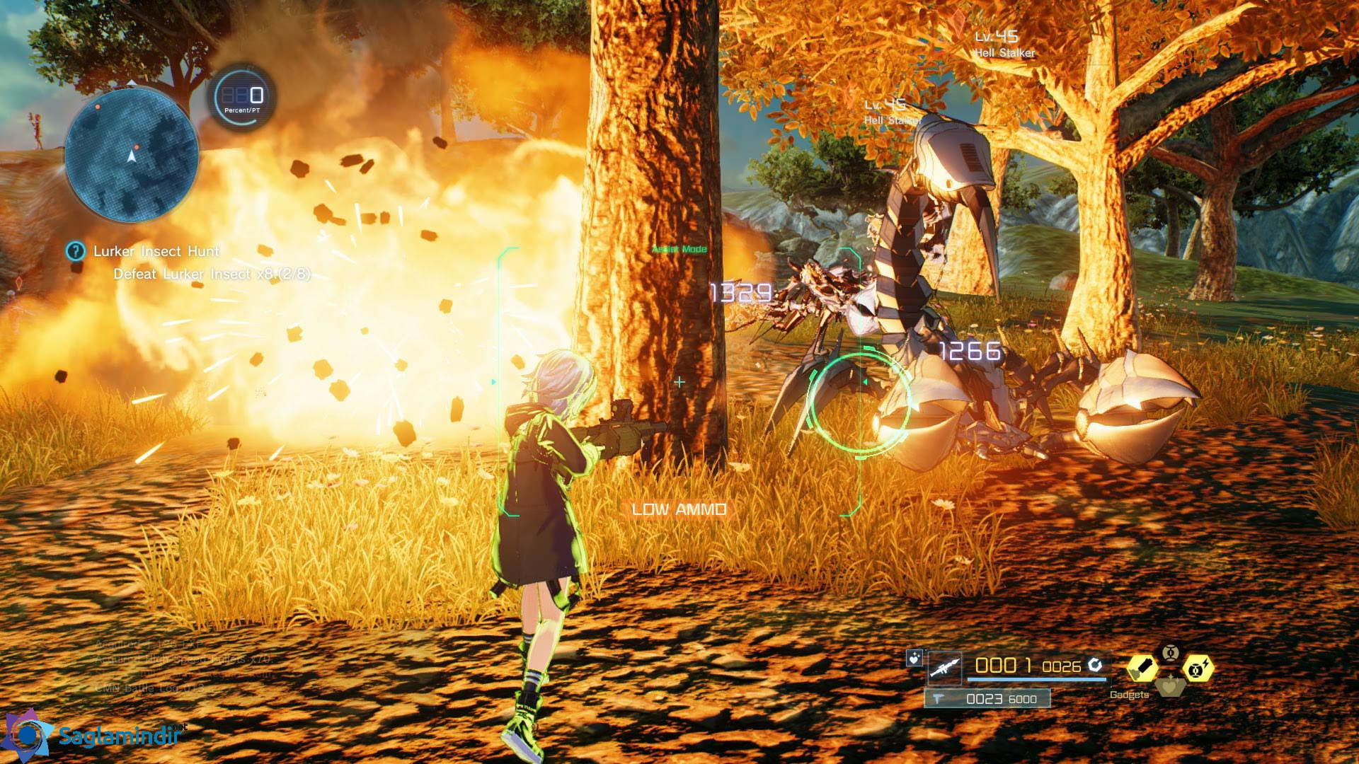 Sword Art Online Fatal Bullet saglamindir