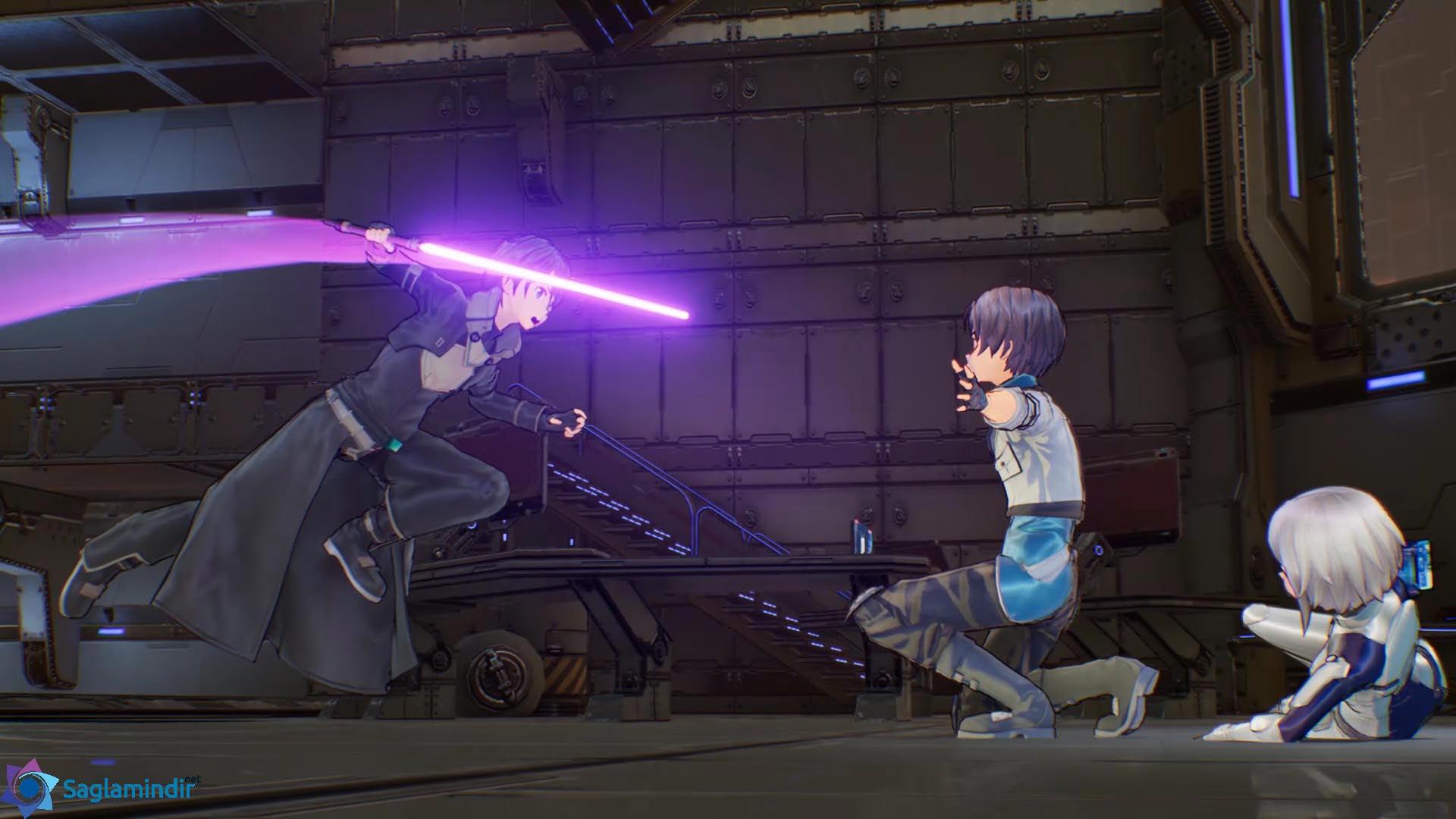 Sword Art Online Fatal Bullet torrent indir
