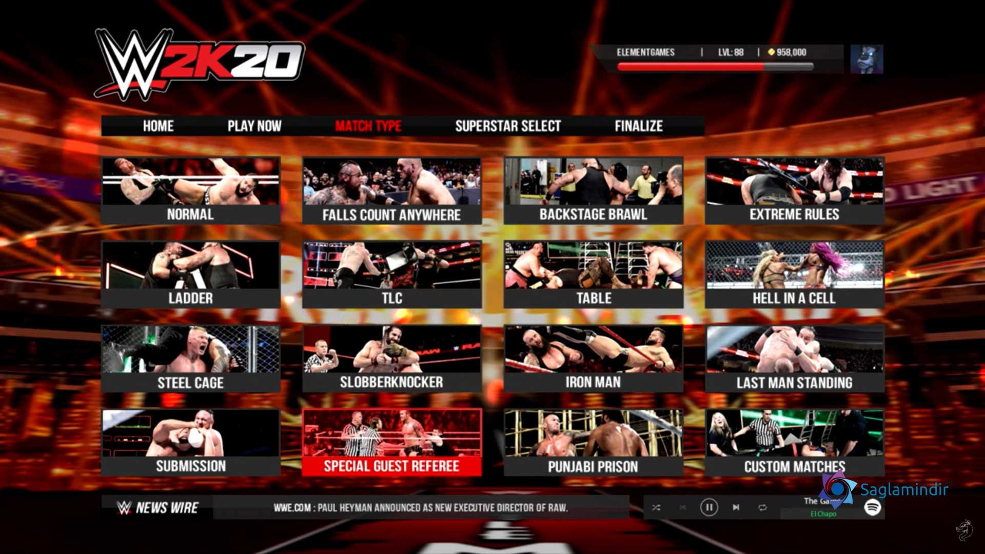 WWE 2K20 full indir