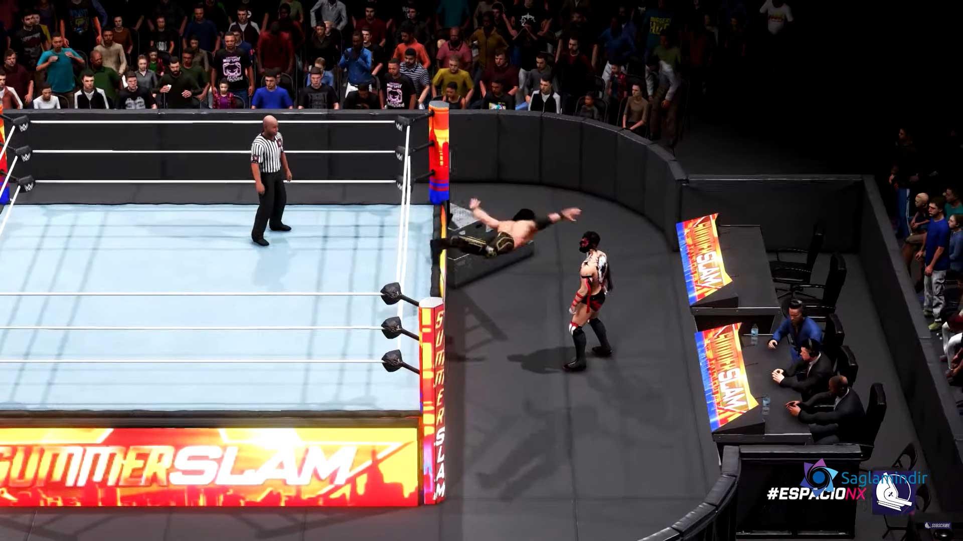 WWE 2K20 oyunu ücretsiz indir