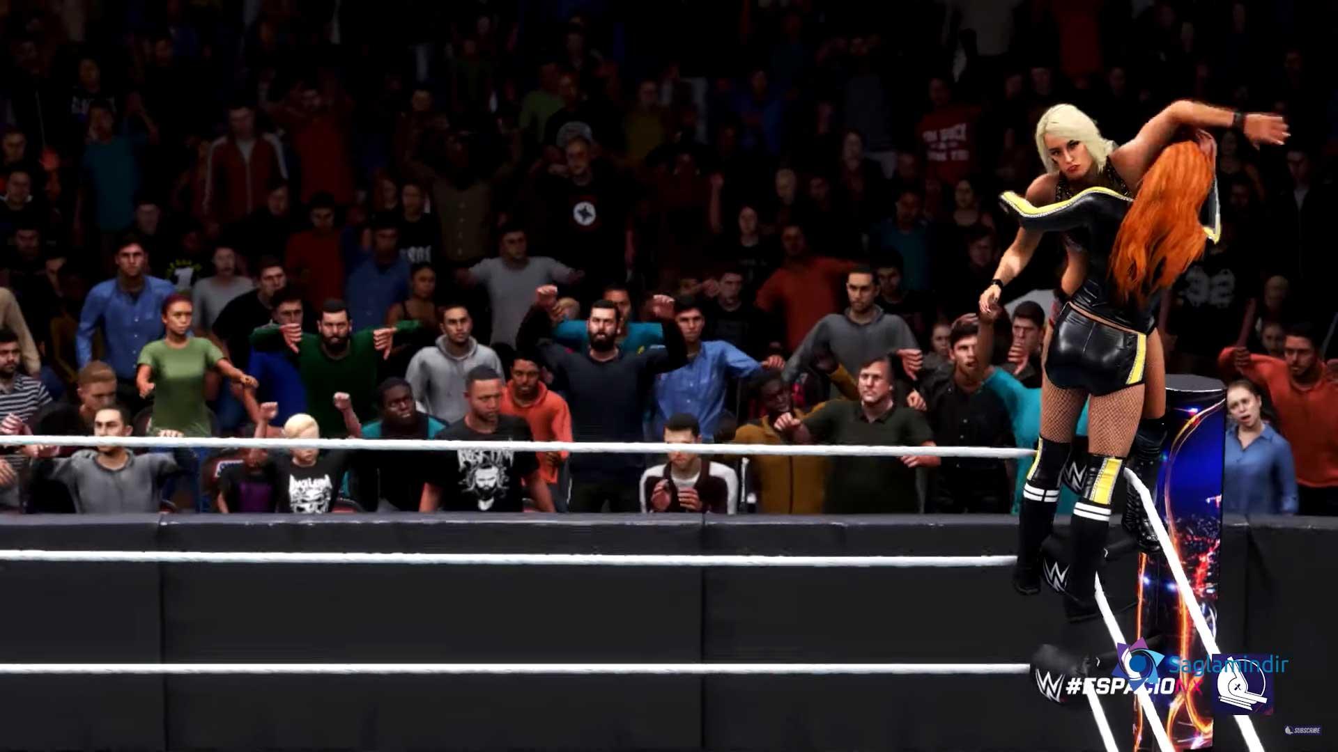 WWE 2K20 türkçe yama indir