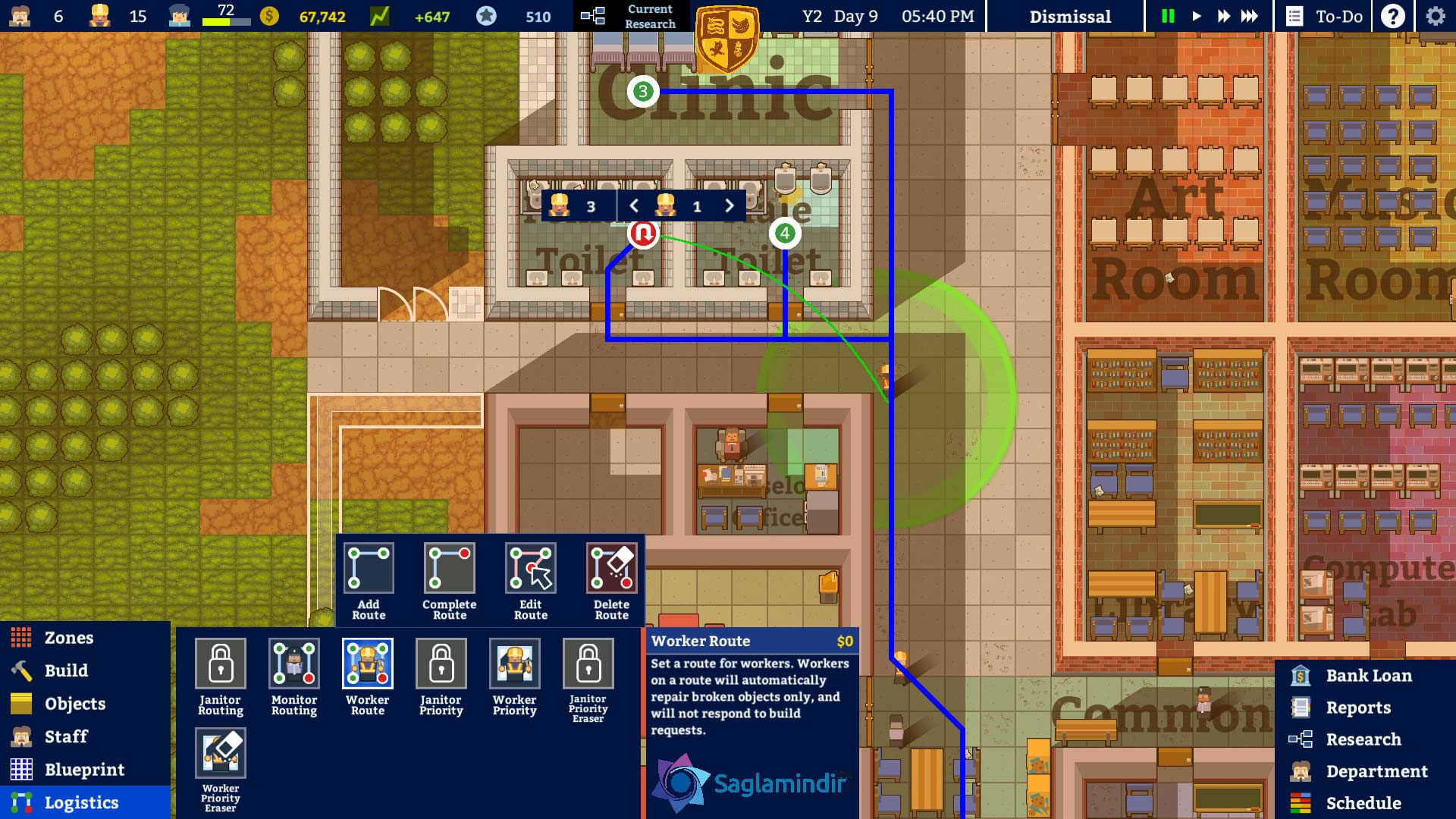 Academia School Simulator torrent indir
