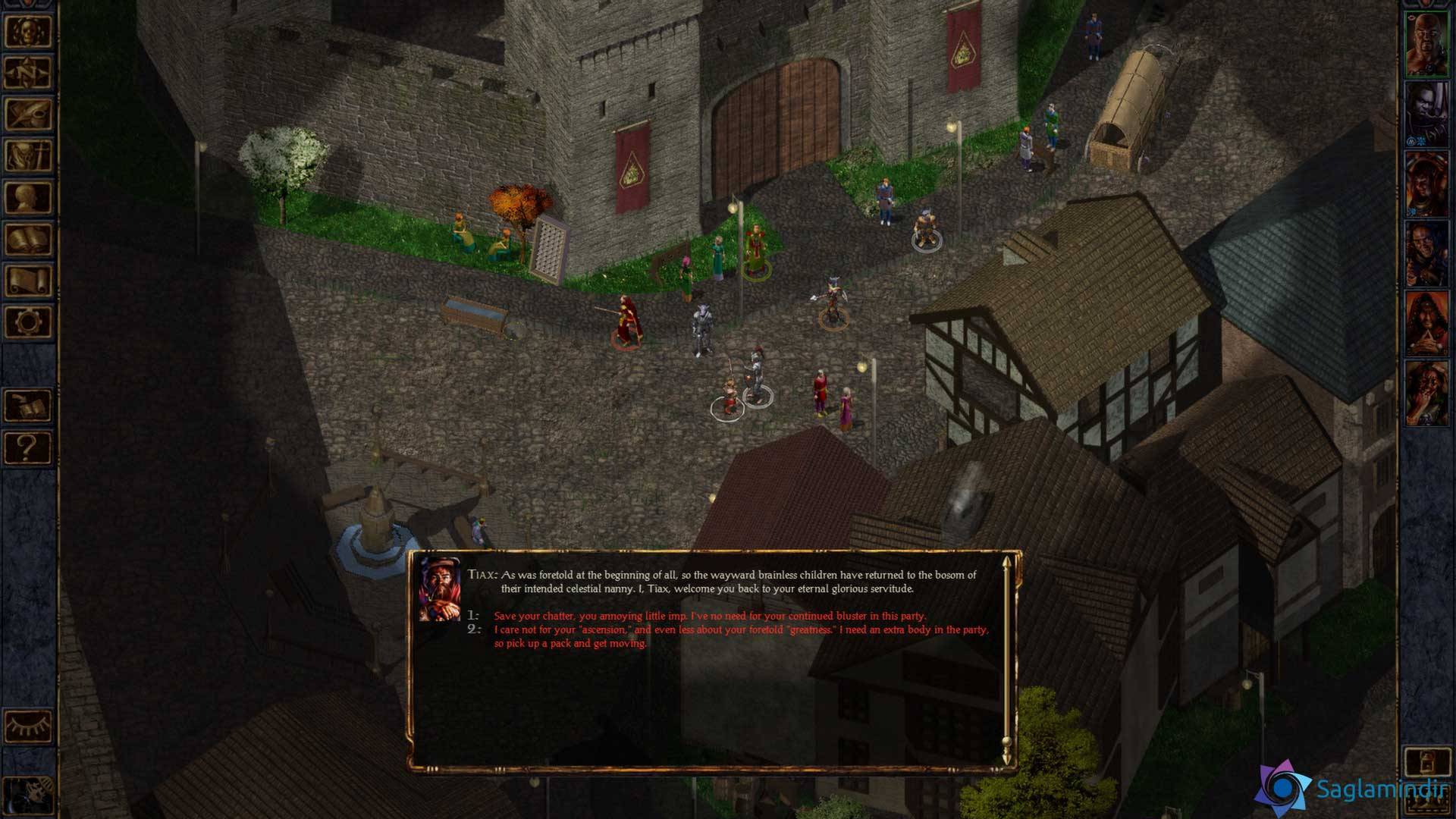 Baldur's Gate Enhanced Edition saglamindir