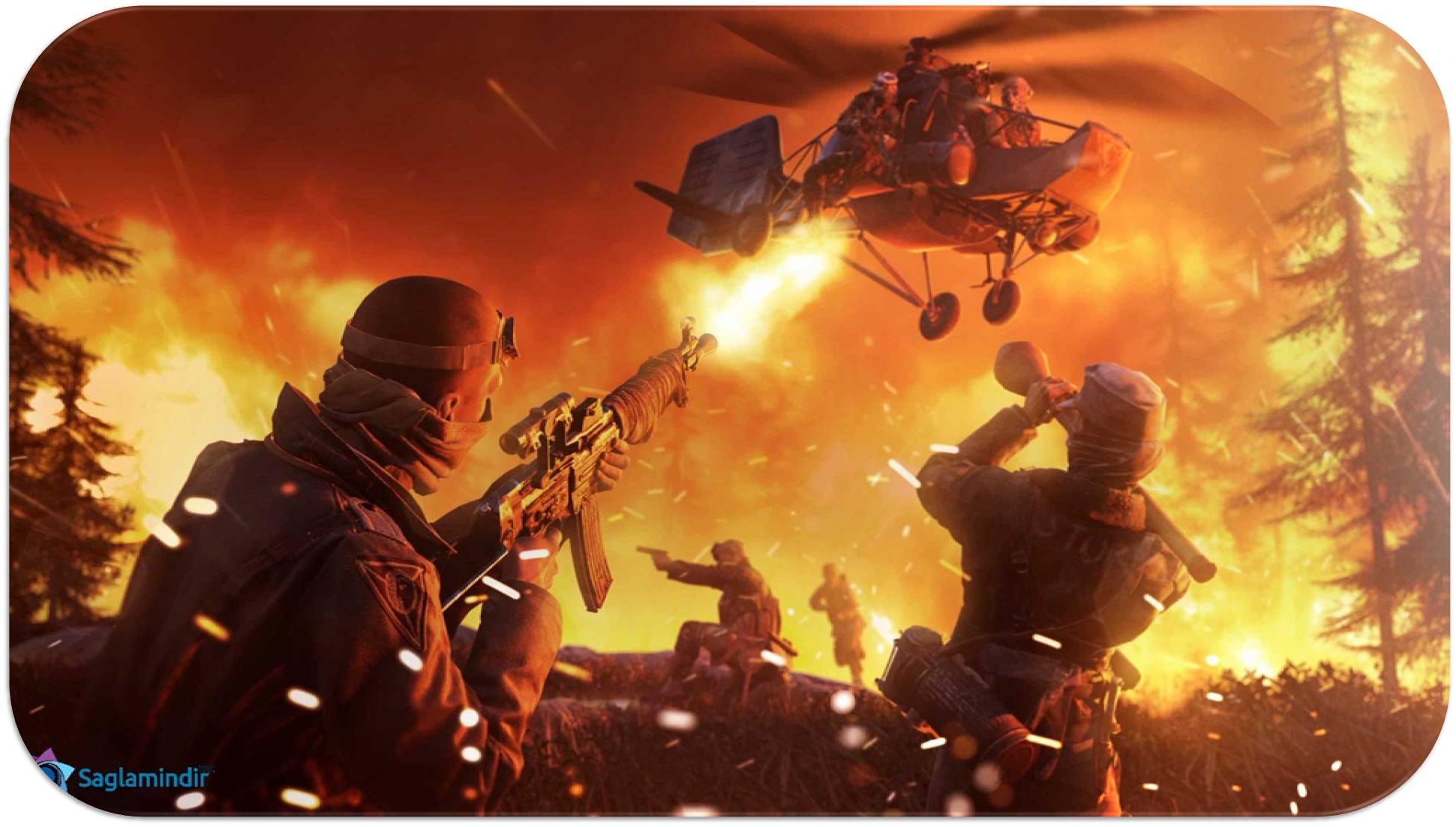 Battlefield 5 saglamindir