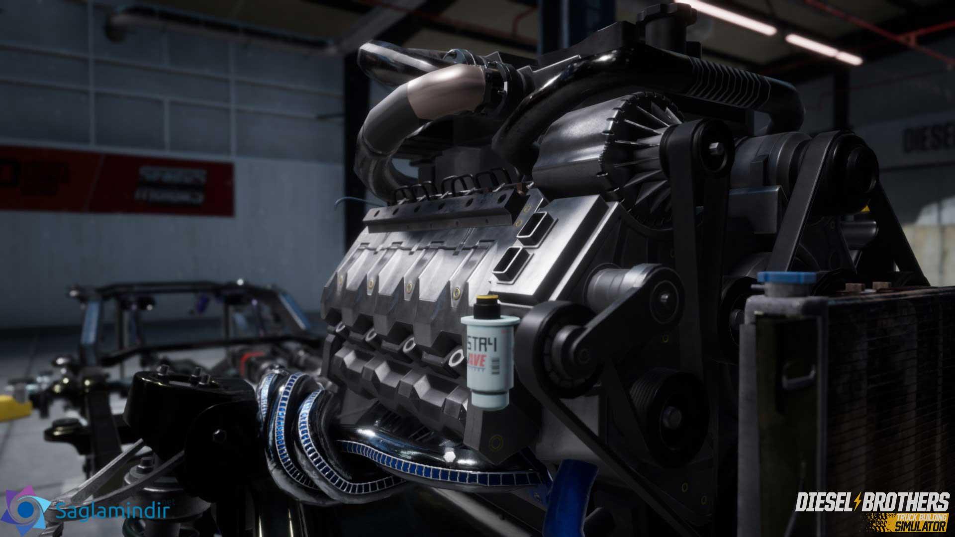 Diesel Brothers Truck Building Simulator full indir