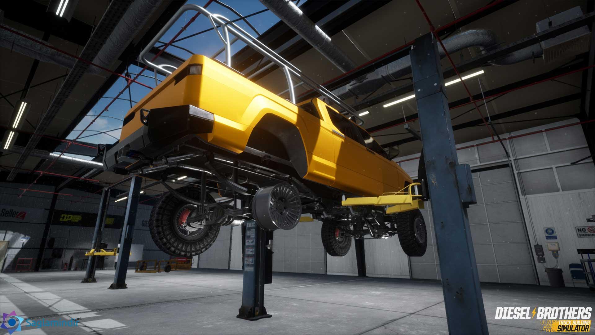 Diesel Brothers Truck Building Simulator saglamindir
