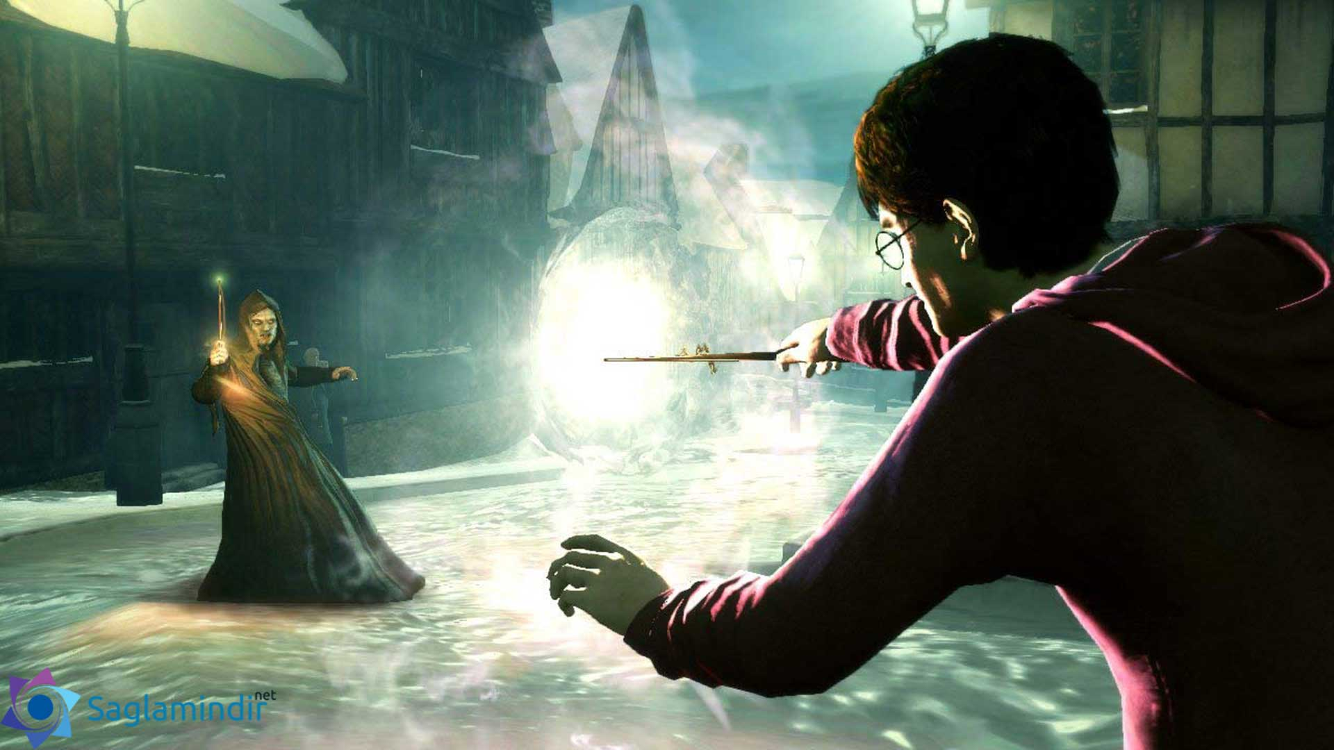 Harry Potter and the Deathly Hallows Part 1 saglamindir