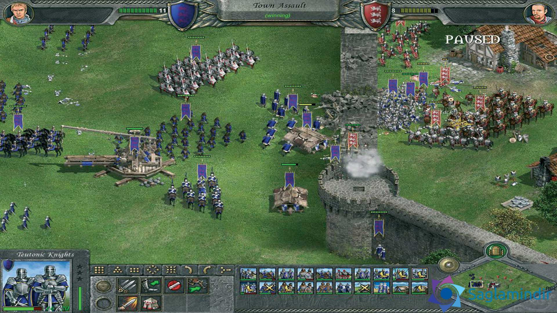 Knights of Honor torrent indir