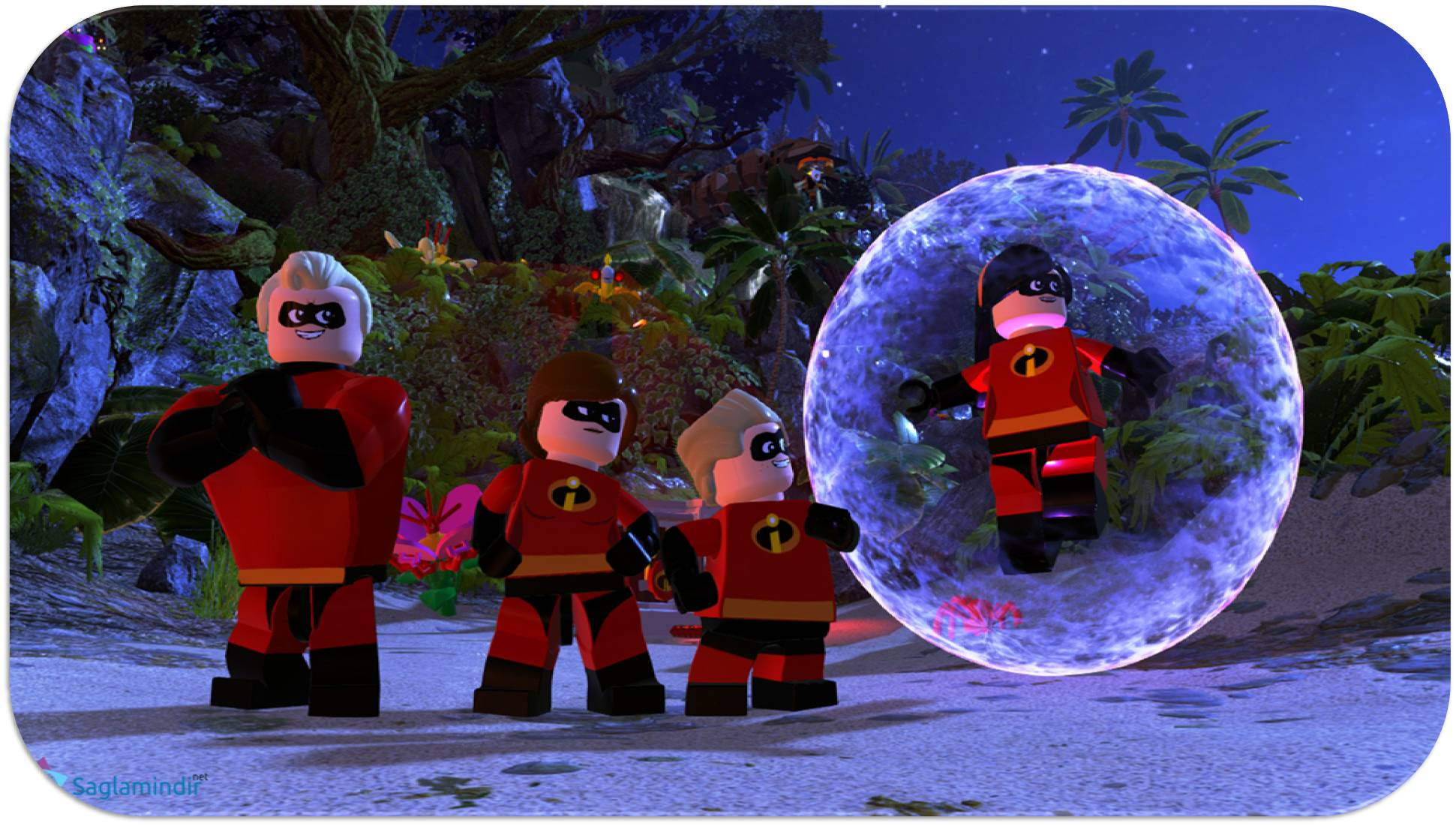Lego The Incredibles saglamindir