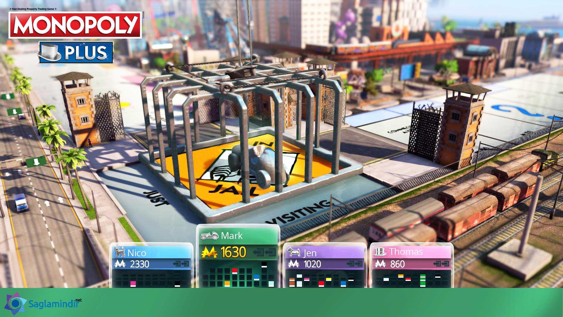 Monopoly Plus oyun içi görüntüsü