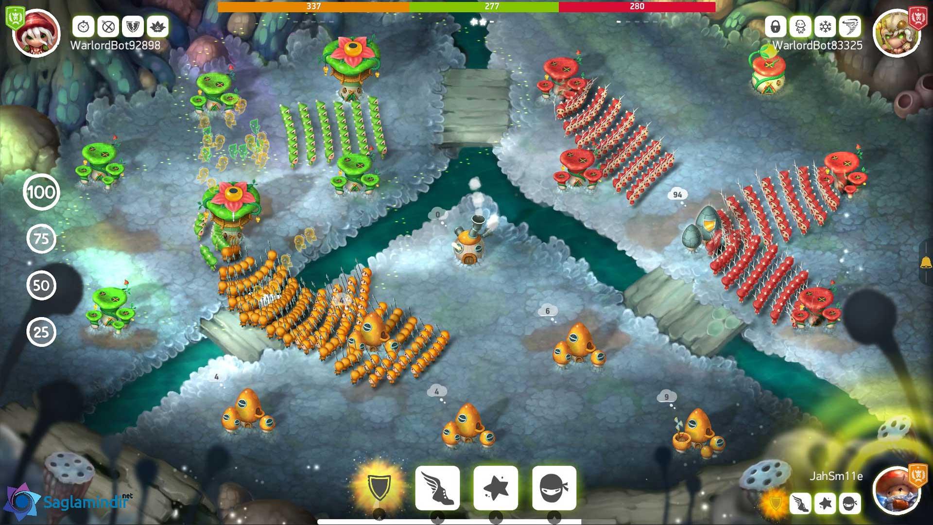 Mushroom Wars 2 saglamidir