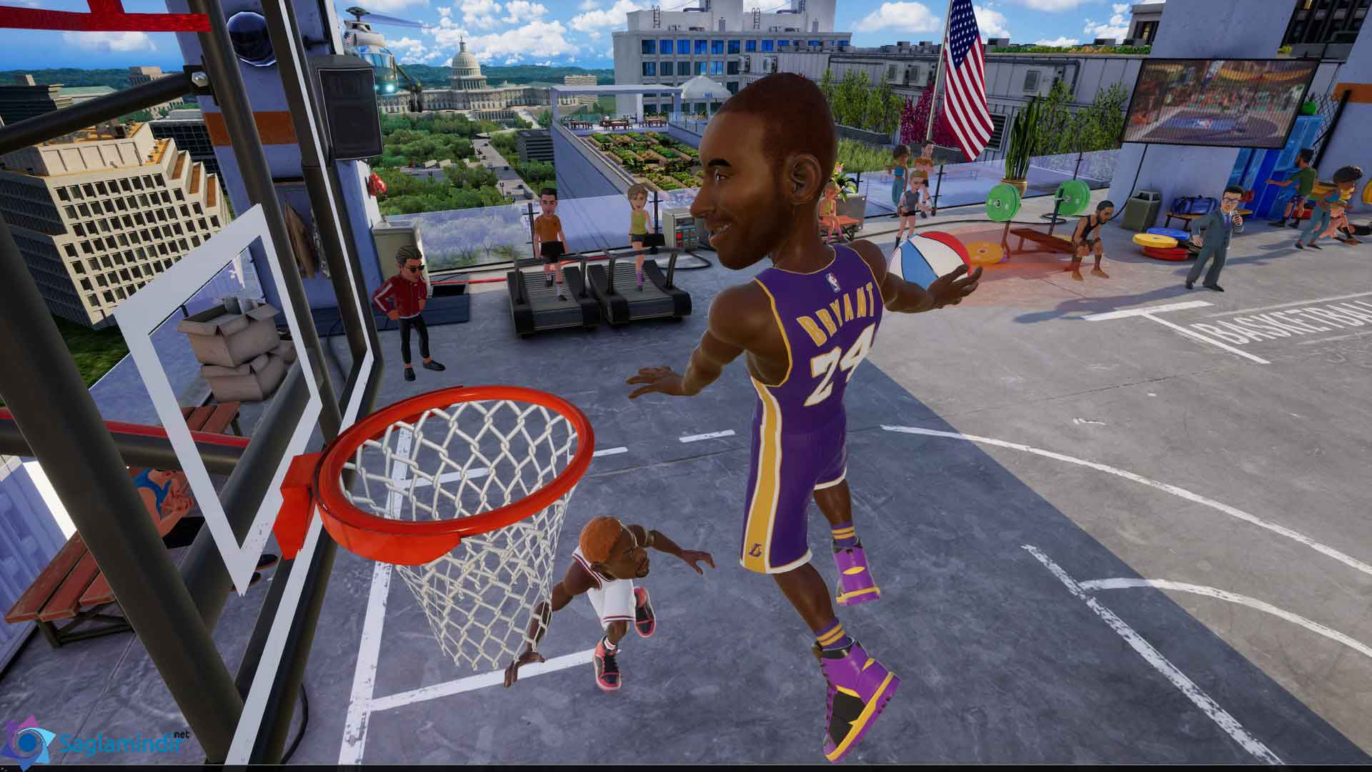 NBA Playgrounds saglamindir