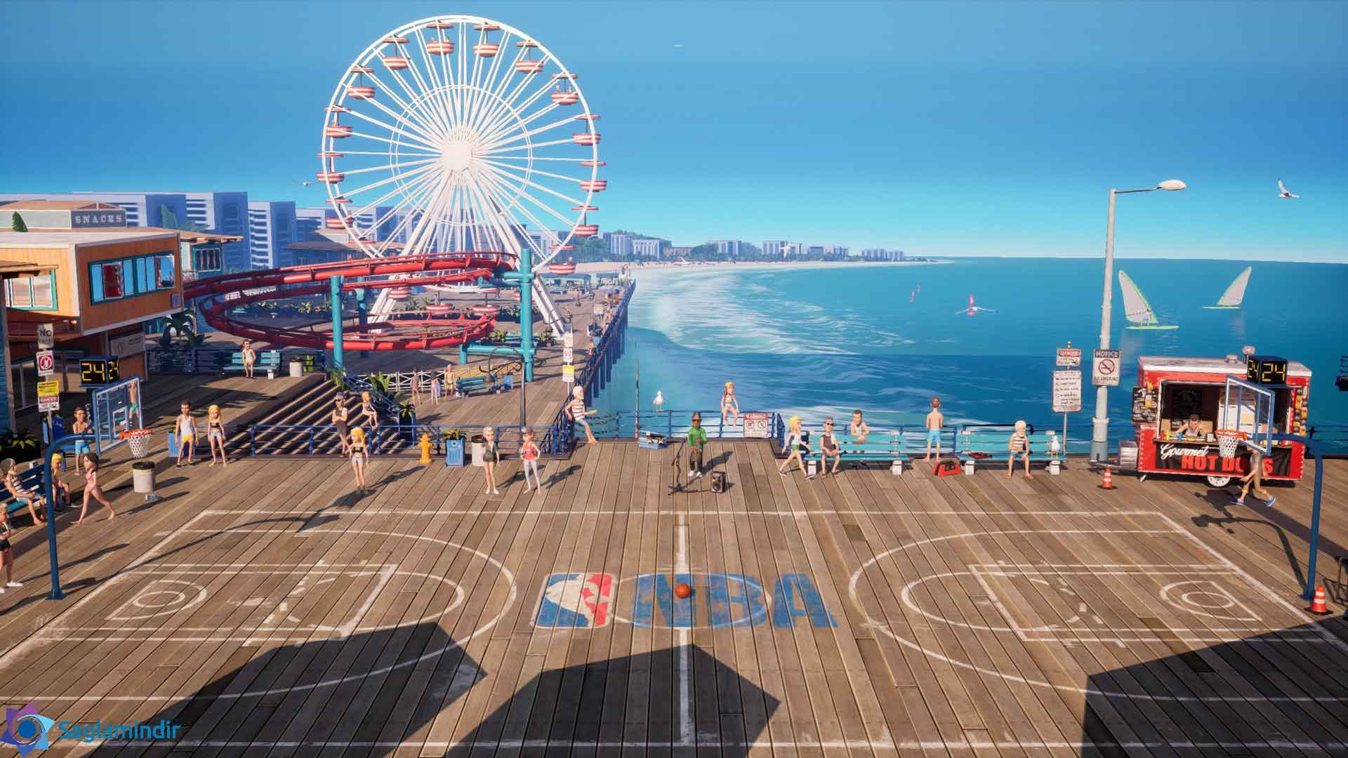 NBA Playgrounds torrent indir