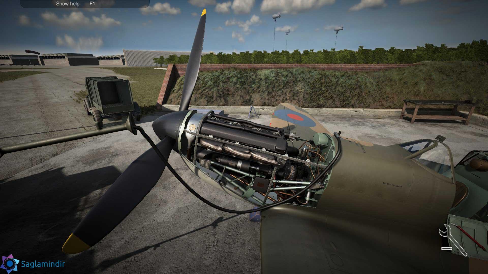 Plane Mechanic Simulator torrent indir