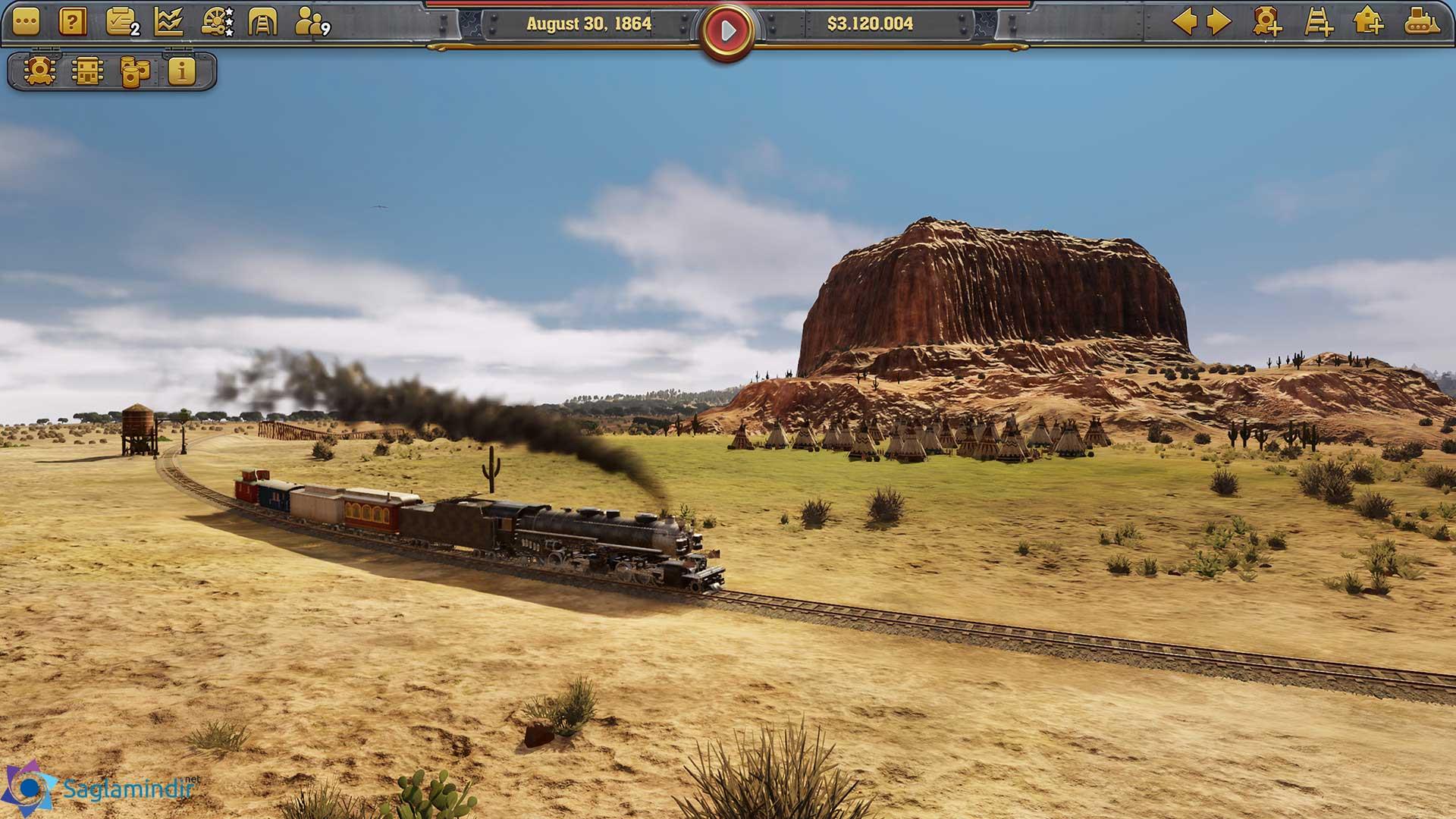 Railway Empire torrent indir