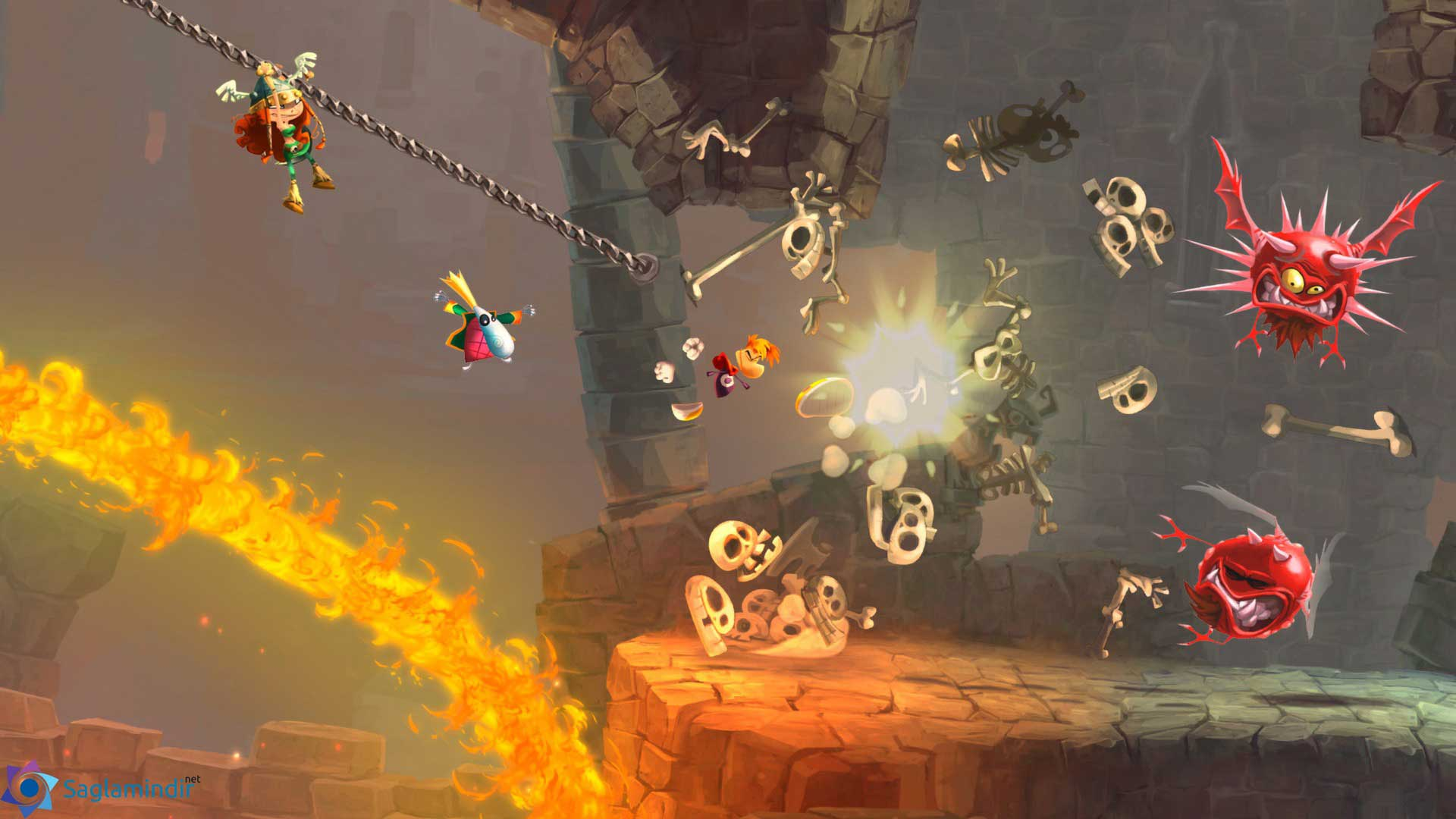 Rayman Legends full indir