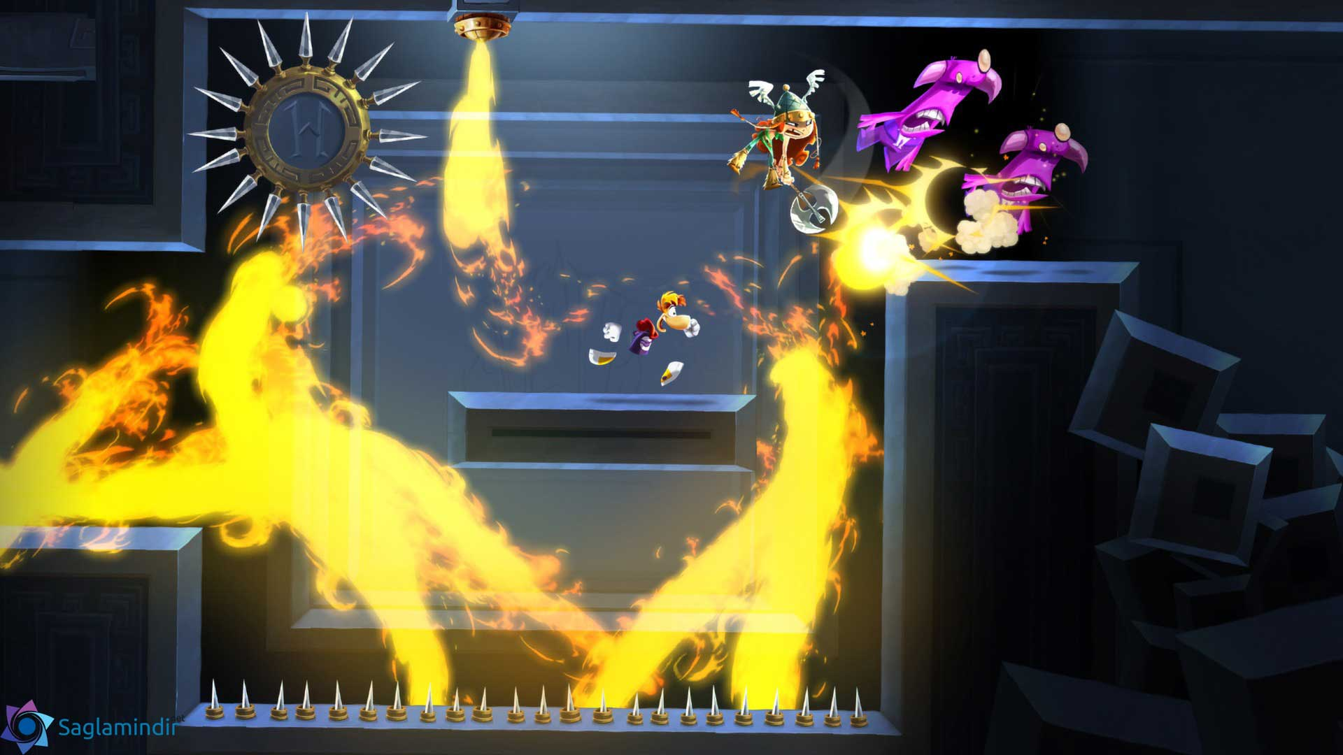 Rayman Legends torrent indir