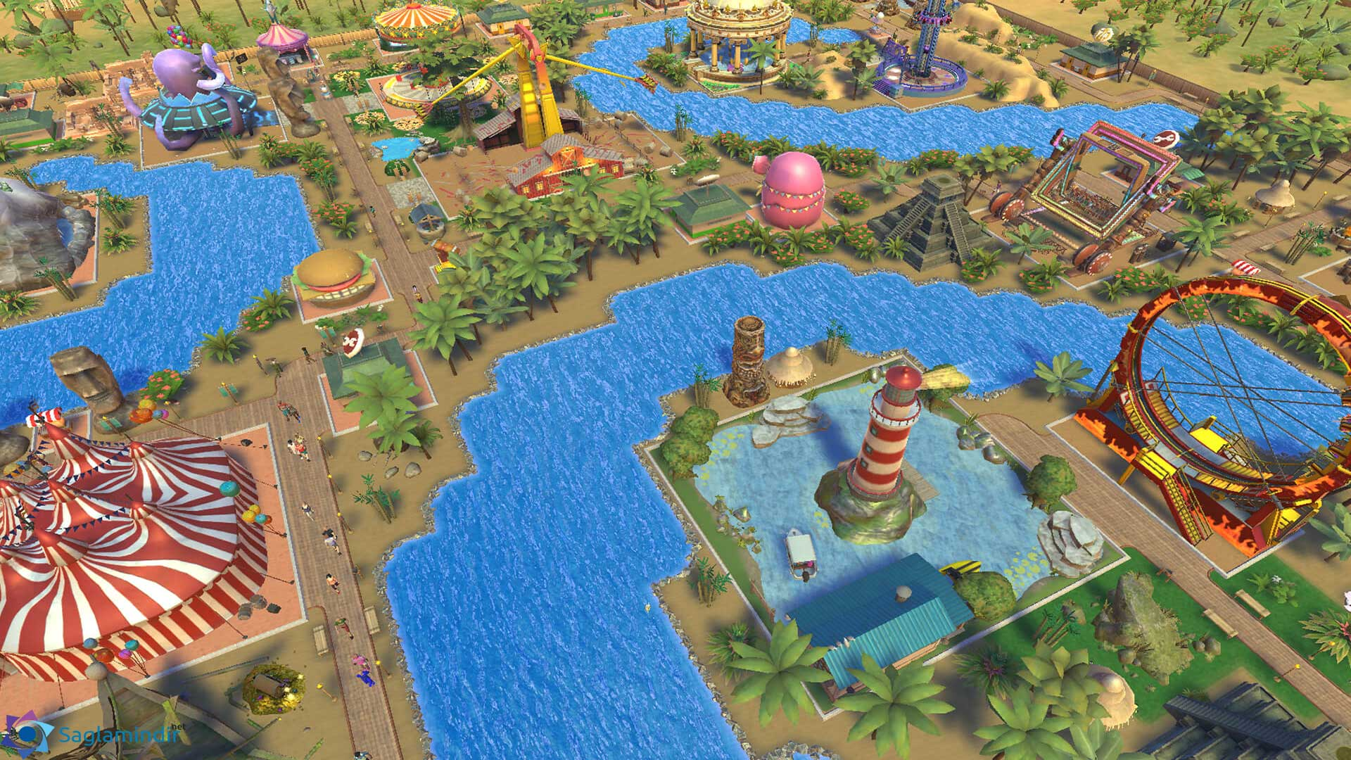 Roller Coaster Tycoon Adventures full indir