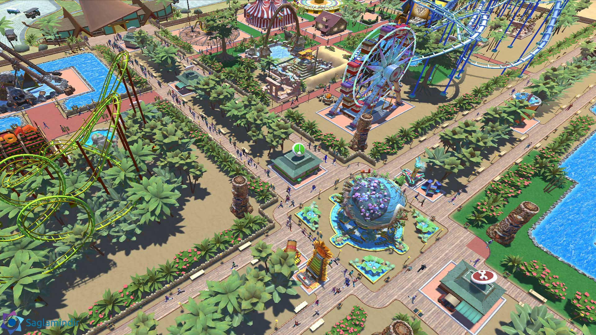 Roller Coaster Tycoon Adventures torrent indir