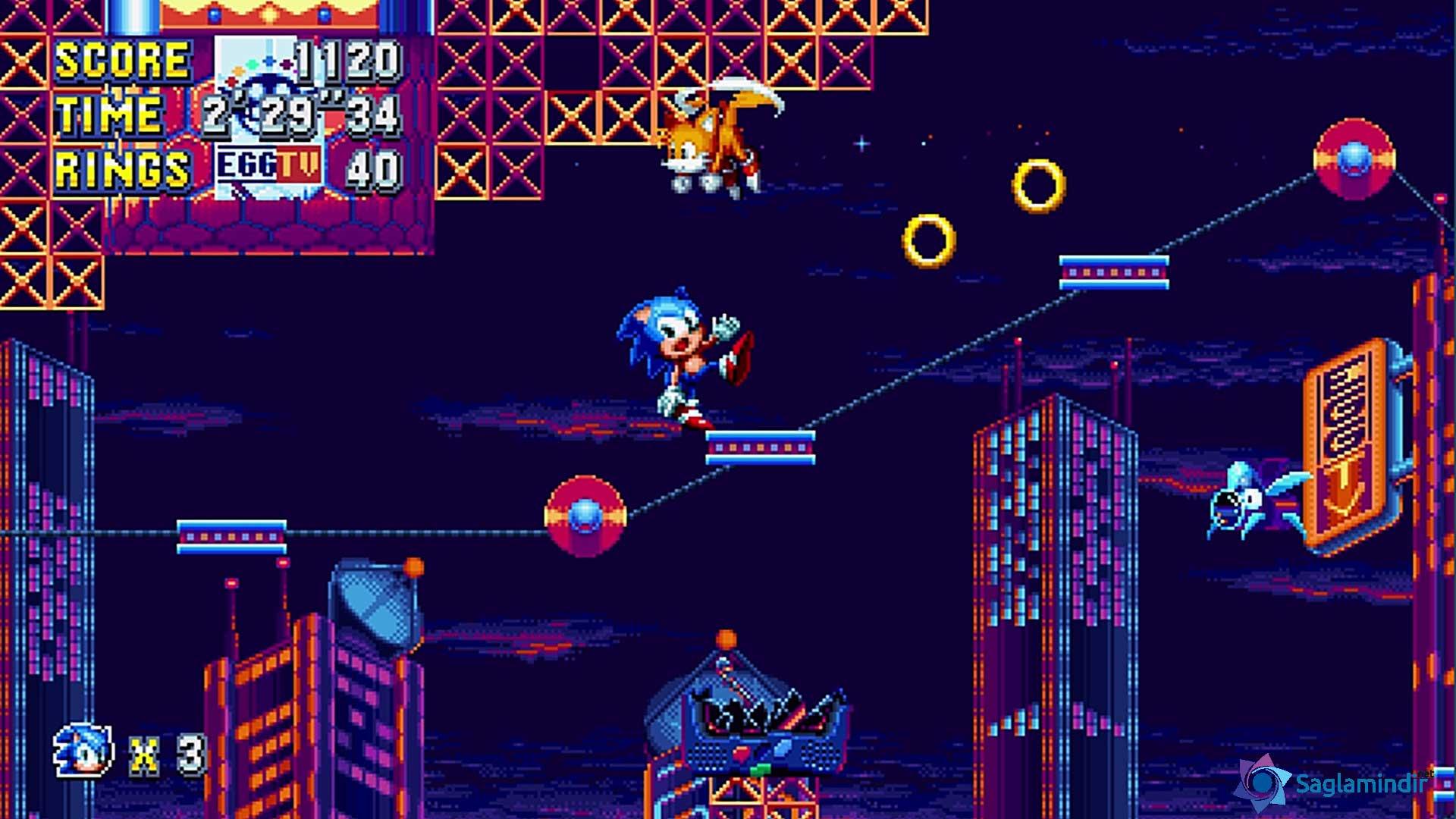 Sonic Mania saglamindir