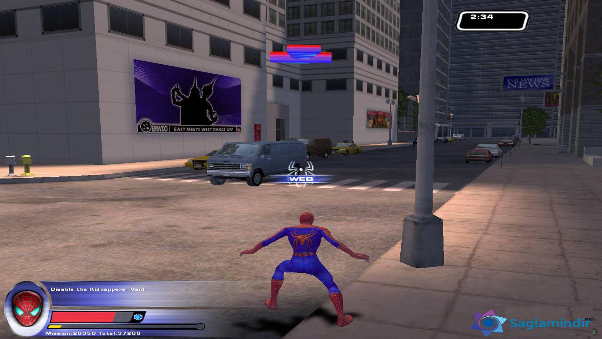 Spider Man 2 The Game saglamindir