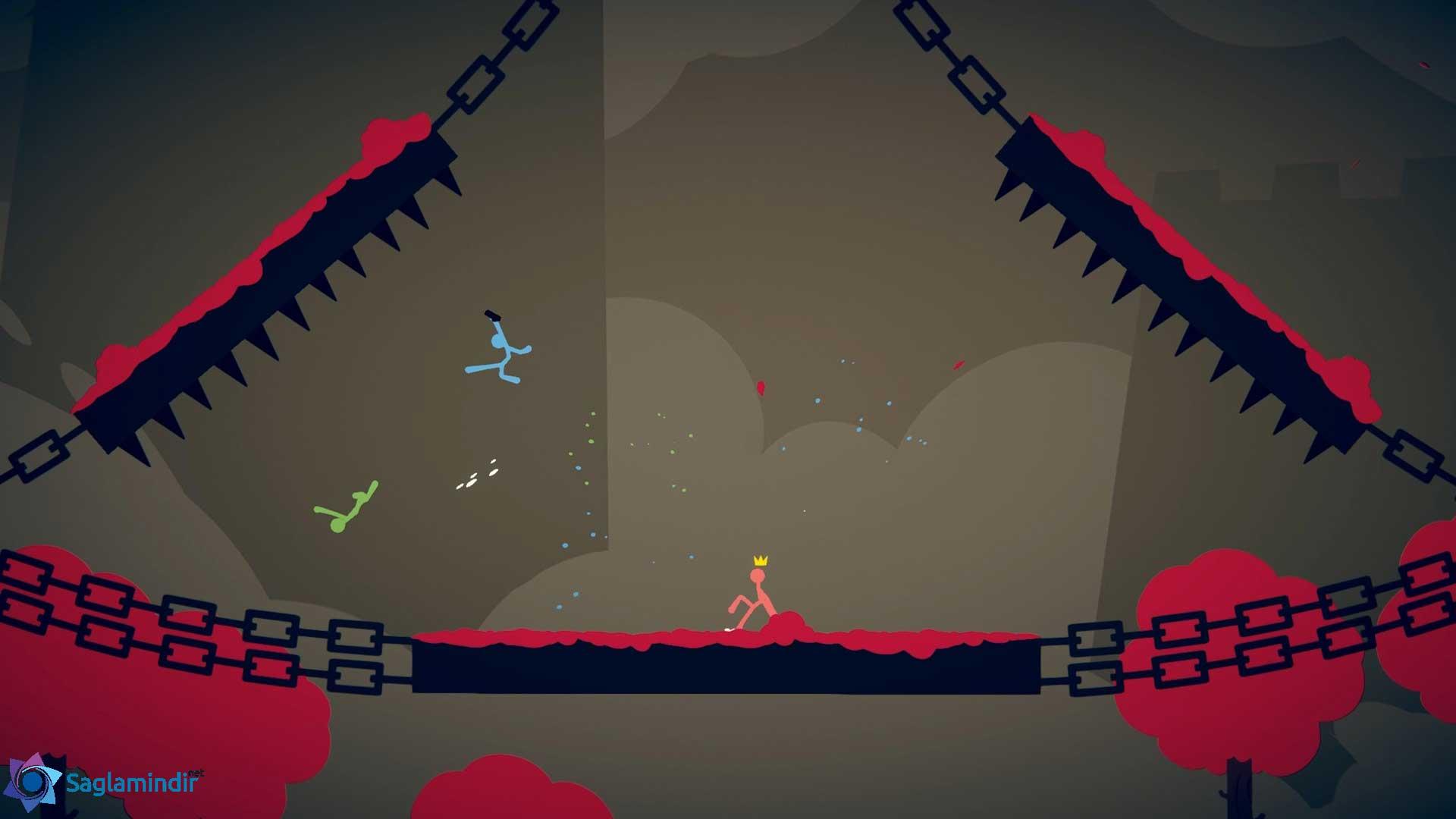 Stick Fight The Game oyuniçi görüntü